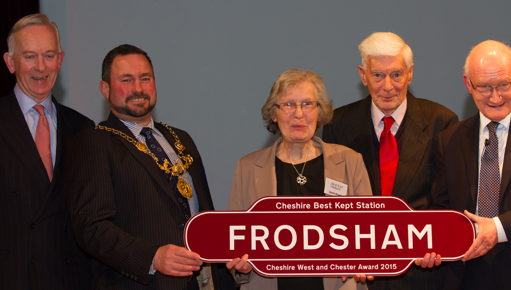 Frodsham win the Cheshire West and Chester Award 2015