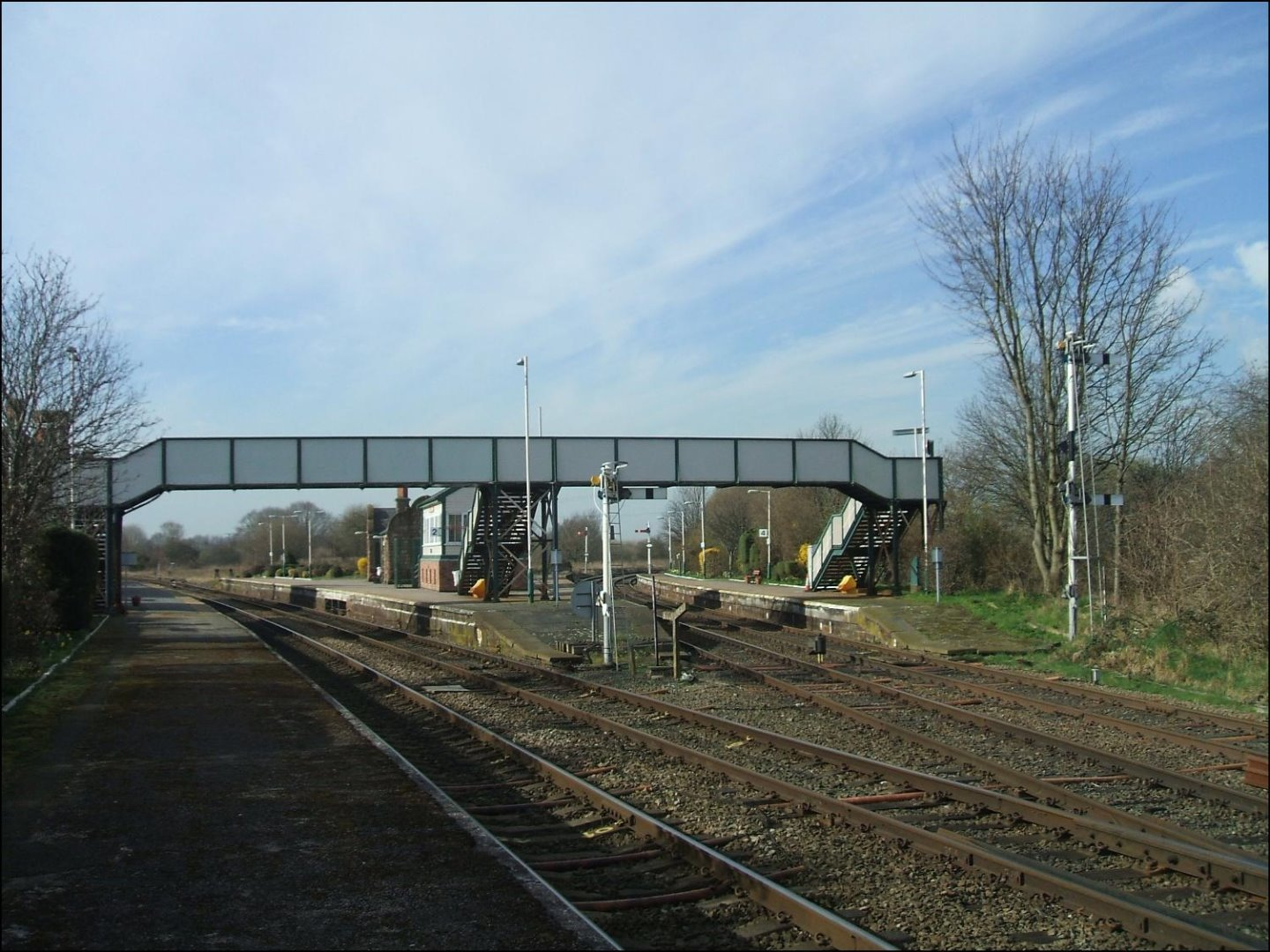 Helsby - an award winning junction station